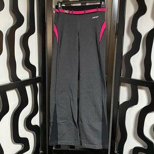 Bebe Sport Gray and Pink Pants